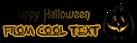 Font Lansbury Halloween Symbol Logo Preview