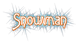 Font Lansbury Snowman Logo Preview