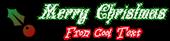 Font Leafy Glade Christmas Symbol Logo Preview