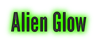 Font League Gothic Alien Glow Logo Preview