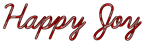 Happy Joy Logo Style