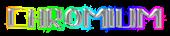 Font Lebowski Chromium Logo Preview