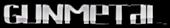 Font Lebowski Gunmetal Logo Preview