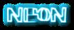 Font Lebowski Neon Logo Preview
