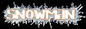 Font Lebowski Snowman Logo Preview