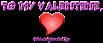 Font Leftside Valentine Symbol Logo Preview