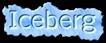 Font Legendum Iceberg Logo Preview