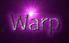 Font Legendum Warp Logo Preview