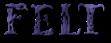 Font Letters Animales Felt Logo Preview