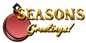 Font Letters Animales Seasons Greetings Logo Preview