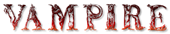 Font Letters Animales Vampire Logo Preview
