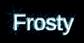 Font Liberation Sans Frosty Logo Preview