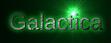 Font Liberation Sans Galactica Logo Preview