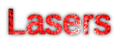 Font Liberation Sans Lasers Logo Preview