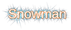 Font Liberation Sans Snowman Logo Preview