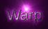 Font Liberation Sans Warp Logo Preview