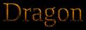 Font Liberation Serif Dragon Logo Preview
