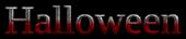 Font Liberation Serif Halloween Logo Preview