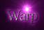 Font Liberation Serif Warp Logo Preview