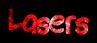 Font Lindas Lament Lasers Logo Preview