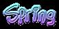 Font Lindas Lament Spring Logo Preview