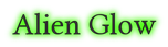 Font Linux Libertine Alien Glow Logo Preview