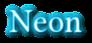 Font Linux Libertine Neon Logo Preview