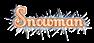 Snowman Logo Style