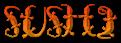 Font Lizzard Sushi Logo Preview