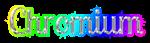 Font Lobster Chromium Logo Preview