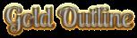 Font Lobster Gold Outline Logo Preview