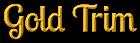 Font Lobster Gold Trim Logo Preview