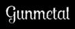 Font Lobster Gunmetal Logo Preview
