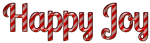 Font Lobster Happy Joy Logo Preview