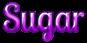 Font Lobster Sugar Logo Preview