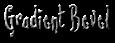 Font Lovesick Gradient Bevel Logo Preview