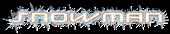 Font Lunasequent Snowman Logo Preview