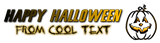 Font Lunch Time Halloween Symbol Logo Preview