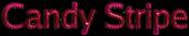 Font Luxi Sans Candy Stripe Logo Preview