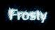 Font Luxi Sans Frosty Logo Preview