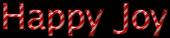 Font Luxi Sans Happy Joy Logo Preview