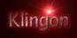 Font Luxi Sans Klingon Logo Preview
