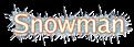 Font Luxi Sans Snowman Logo Preview