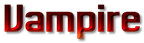 Font MacType Vampire Logo Preview