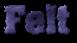 Font Machauer Glas Felt Logo Preview