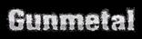 Font Machauer Glas Gunmetal Logo Preview