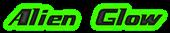 Font Magnum PI Alien Glow Logo Preview