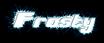 Font Magnum PI Frosty Logo Preview