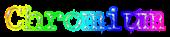 Font McGarey Chromium Logo Preview