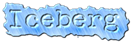 Font McGarey Iceberg Logo Preview